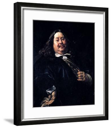 Portrait of a Man-Jacob Jordaens-Framed Giclee Print