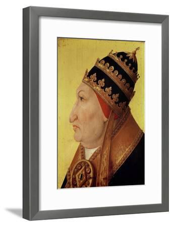 Portrait of Rodrigo Borgia (1431-1503) Pope Alexander VI--Framed Giclee Print