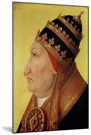 Portrait of Rodrigo Borgia (1431-1503) Pope Alexander VI--Mounted Giclee Print