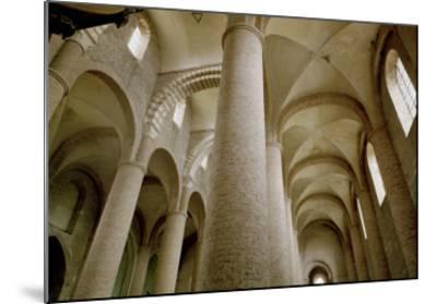 Interior View of the Nave and the Vaulting--Mounted Giclee Print