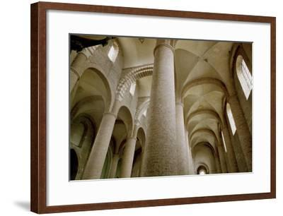 Interior View of the Nave and the Vaulting--Framed Giclee Print