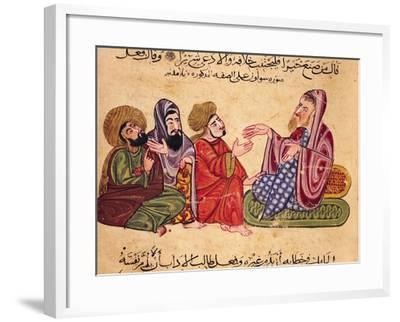 Solon (638-559 BC) Teaching--Framed Giclee Print