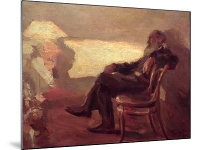 Lev Nikolaevich Tolstoy (1828-1910) 1901-Leonid Osipovic Pasternak-Mounted Giclee Print
