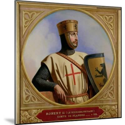 Robert II Le Hierosolymitain, Count of Flanders (D.1111) 1843-Henri Decaisne-Mounted Giclee Print