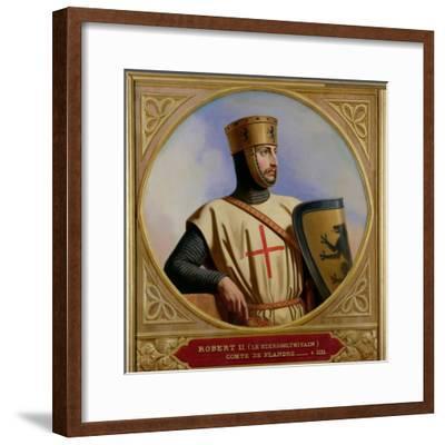 Robert II Le Hierosolymitain, Count of Flanders (D.1111) 1843-Henri Decaisne-Framed Giclee Print