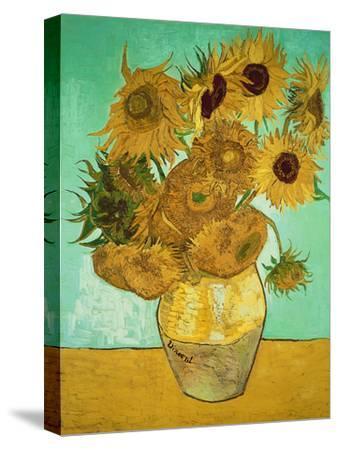 Sunflowers, c.1888-Vincent van Gogh-Stretched Canvas Print