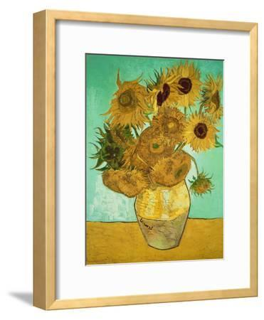 Sunflowers, c.1888-Vincent van Gogh-Framed Giclee Print
