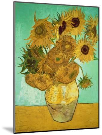 Sunflowers, c.1888-Vincent van Gogh-Mounted Giclee Print