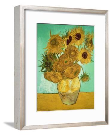 Sunflowers, c.1888-Vincent van Gogh-Framed Giclee Print