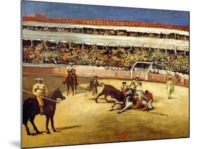 Bull Fight, 1865-Edouard Manet-Mounted Giclee Print