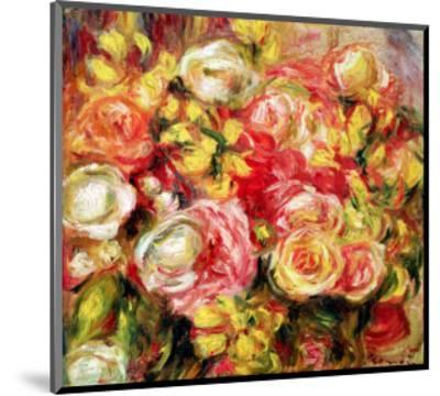 Roses, 1915-Pierre-Auguste Renoir-Mounted Premium Giclee Print