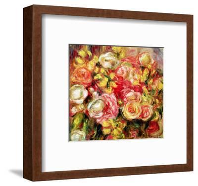 Roses, 1915-Pierre-Auguste Renoir-Framed Premium Giclee Print
