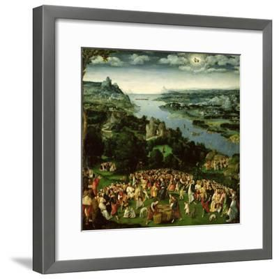 The Feeding of the Five Thousand-Joachim Patenir-Framed Giclee Print