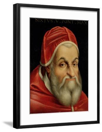 Pope Sixtus V (1520-90)--Framed Giclee Print