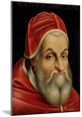 Pope Sixtus V (1520-90)--Mounted Giclee Print
