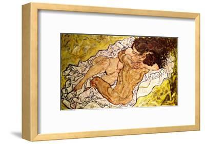 The Embrace, 1917-Egon Schiele-Framed Giclee Print