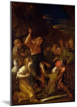 Jesus Healing the Leper, 1864-Jean-Marie Melchior Doze-Mounted Giclee Print
