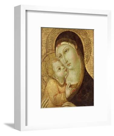 Madonna and Child-Sano di Pietro-Framed Premium Giclee Print