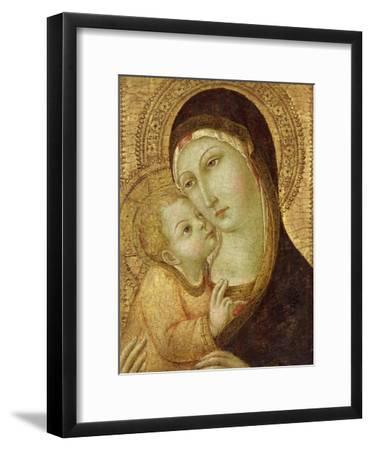 Madonna and Child-Sano di Pietro-Framed Giclee Print