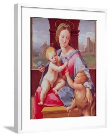 The Aldobrandini Madonna or the Garvagh Madonna, circa 1509-10-Raphael-Framed Giclee Print