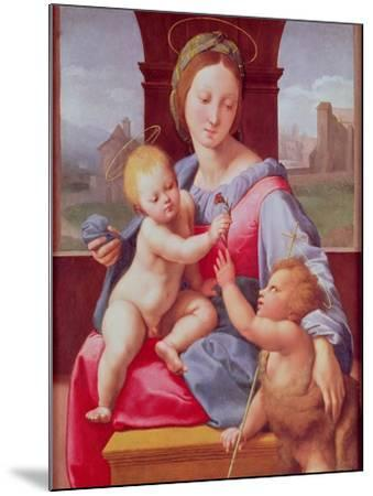 The Aldobrandini Madonna or the Garvagh Madonna, circa 1509-10-Raphael-Mounted Giclee Print