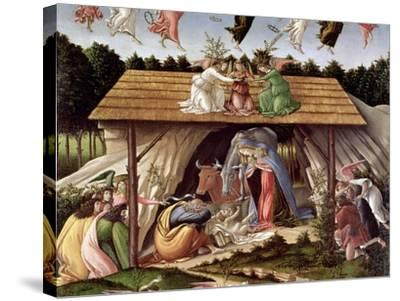 Mystic Nativity, 1500-Sandro Botticelli-Stretched Canvas Print