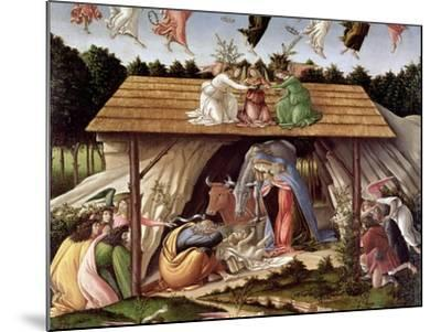 Mystic Nativity, 1500-Sandro Botticelli-Mounted Giclee Print
