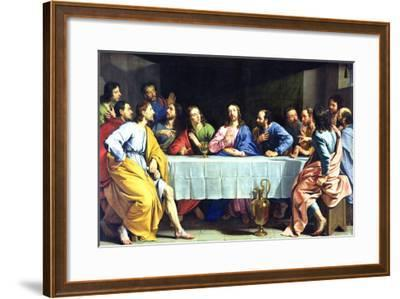 The Last Supper, 1648-Philippe De Champaigne-Framed Giclee Print