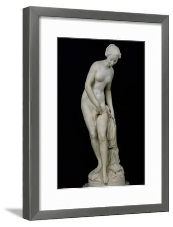 Bather Getting into a Bath, 1757-Etienne-Maurice Falconet-Framed Giclee Print
