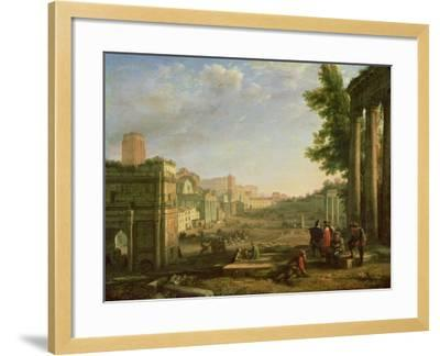 View of the Campo Vaccino, Rome-Claude Lorraine-Framed Giclee Print