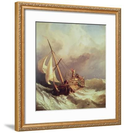 On the Dogger Bank, 1846-William Clarkson Stanfield-Framed Giclee Print