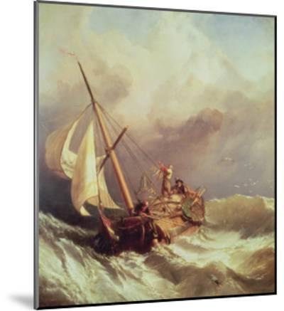 On the Dogger Bank, 1846-William Clarkson Stanfield-Mounted Giclee Print