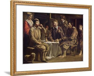 The Peasant's Meal, 1642-Louis Le Nain-Framed Giclee Print