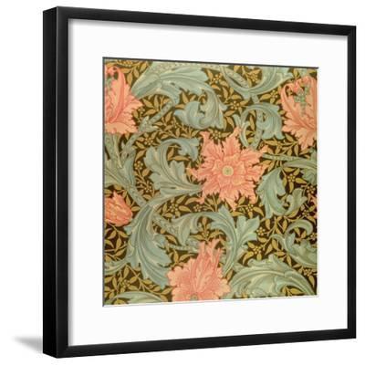 """""""Single Stem"""" Wallpaper Design-William Morris-Framed Giclee Print"""