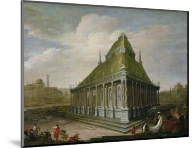 The Seven Wonders of the World: the Mausoleum at Halicarnassus-Wilhelm van Ehrenberg-Mounted Premium Giclee Print