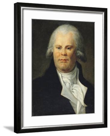 Portrait of Georges Danton (1759-94)--Framed Giclee Print