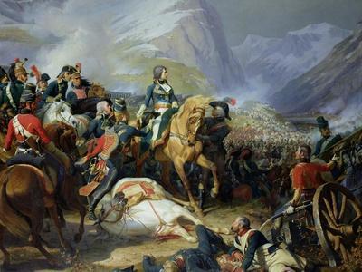 The Battle of Rivoli, 1844-Felix Philippoteaux-Framed Giclee Print