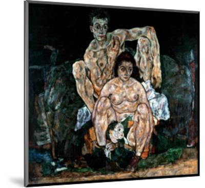 The Artist's Family-Egon Schiele-Mounted Giclee Print