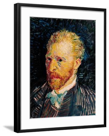 Self Portrait, c.1887-Vincent van Gogh-Framed Giclee Print