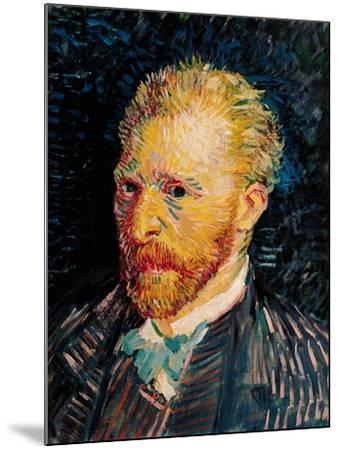 Self Portrait, c.1887-Vincent van Gogh-Mounted Giclee Print