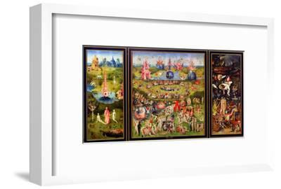 The Garden of Earthly Delights, circa 1500-Hieronymus Bosch-Framed Giclee Print