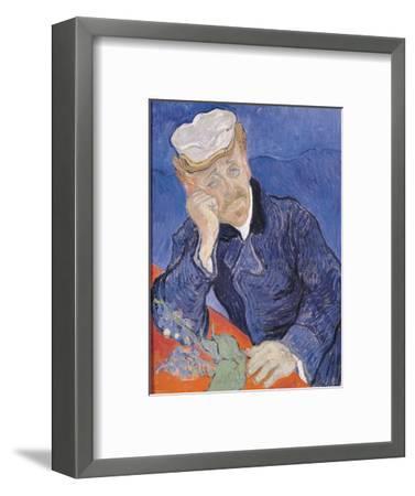 Dr. Paul Gachet, c.1890-Vincent van Gogh-Framed Premium Giclee Print