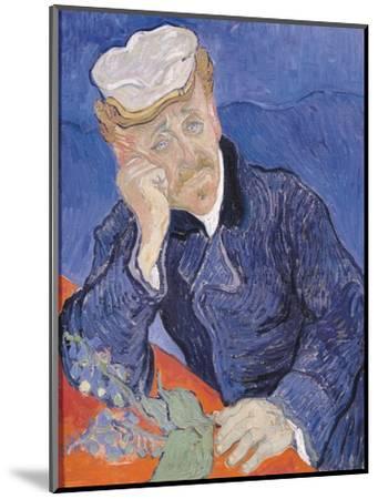 Dr. Paul Gachet, c.1890-Vincent van Gogh-Mounted Premium Giclee Print