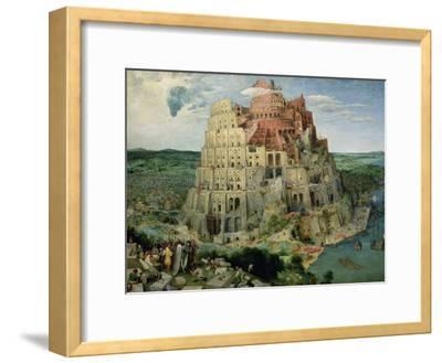 The Tower of Babel, c.1563-Pieter Bruegel the Elder-Framed Giclee Print