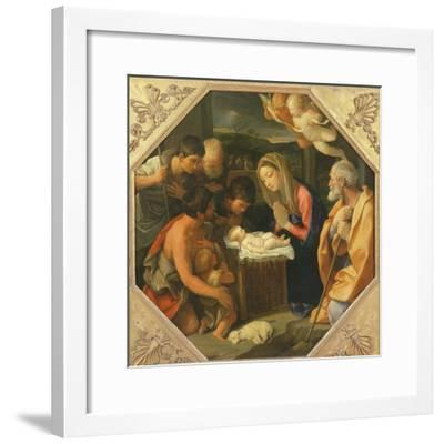 The Adoration of the Shepherds-Guido Reni-Framed Giclee Print