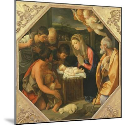 The Adoration of the Shepherds-Guido Reni-Mounted Giclee Print