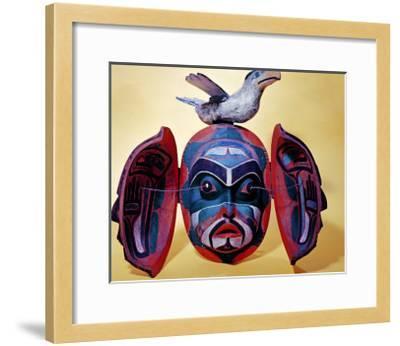 Revelation Mask, Kwakiutl People--Framed Giclee Print