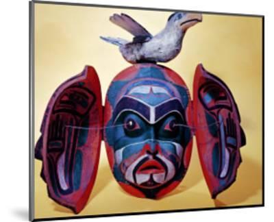 Revelation Mask, Kwakiutl People--Mounted Giclee Print