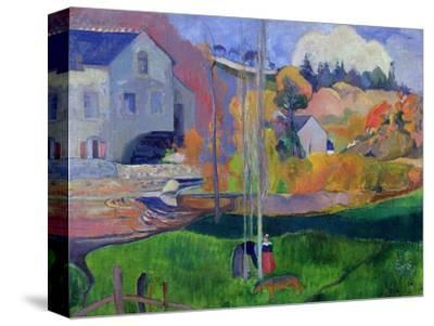 Brittany Landscape: the David Mill, 1894-Paul Gauguin-Stretched Canvas Print