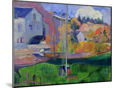 Brittany Landscape: the David Mill, 1894-Paul Gauguin-Mounted Premium Giclee Print